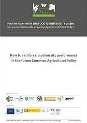 How to reinforce biodiversity performance in the future Common Agricultural Policy
