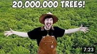 After YouTube campaign: Foundation plants 20 million trees