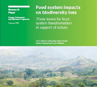 Food system impacts on biodiversity loss