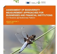 Assessment of Biodiversity Measurement Approaches for Businesses and Financial Institutions: Update Report 3